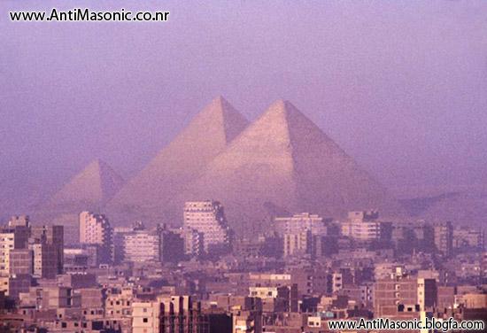 اهرام ثلاثه مصر باستان